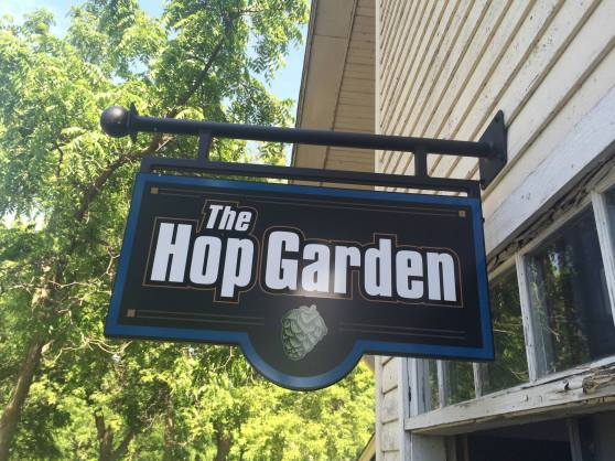 The Hop Garden Tap Room is located at 6818 Canal Street in Paoli, WI